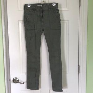 Ann Taylor Loft utility pants size 2P
